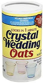wedding oats wedding oats 16 0 oz nutrition information shopwell
