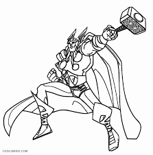 17 thor loki coloring pages 103 dessins coloriage