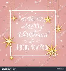 luxury elegant merry christmas holiday background stock vector
