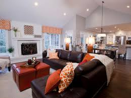 pics photos open concept living room living room ideas country