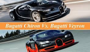 bugatti vs bugatti chiron vs bugatti veyron top speed