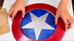 43 captain america u0027s shield part 1 print u0026 cut u0027cardboard