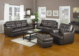 leather livingroom sets hugo chocolate leather sofa set sofa sets