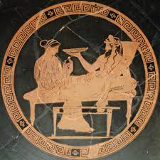 How To Read Greek Vases Persephone And Hades A Greek Vase Painting Greek Costume