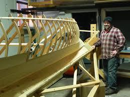 building an adirondack guideboat visit to blue line hardwoods