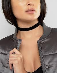 velvet collar necklace images Asos asos basic velvet choker necklace