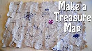 Paper Maps How To Make A Treasure Map Easy Even For Slow Pirates Youtube