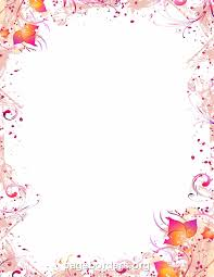 free printable border designs for paper colored of