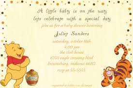 top collection of winnie the pooh baby shower invitations