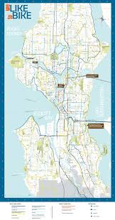 Sea Airport Map City Releases 2014 Bike Map Plans Major Remake In 2015 Seattle