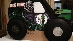 Grave Digger Halloween Costume Grave Digger Monster Truck Costume 12 Steps