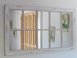 Large Shabby Chic Frame by Large Wood Framed Mirrors Doherty House How To Hang A Wall