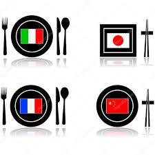 cuisine internationale cuisine internationale image vectorielle bruno1998 38927597