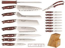 ergonomic kitchen knives introducing the crimson line from ergo chef kitchenware news