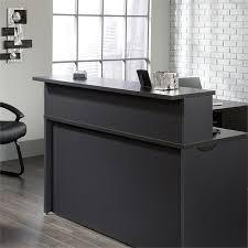 Oak Reception Desk Reception Desk In Bourbon Oak 419641 419600 Kit