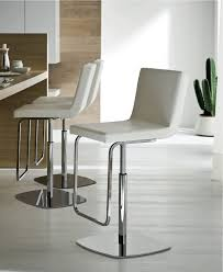 furniture low back white acrylic modern bar stools kitchen with