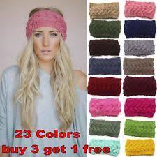 crochet hairband crochet ear warmer hair accessories ebay