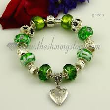 murano charm bracelet images Silver charms bracelets with murano glass crystal beads wholesale jpg