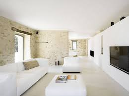 living room lounge white sofas home renovation in treia italy