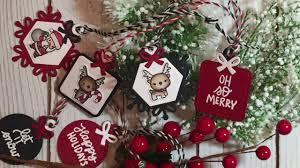 christmas gift tags little reindeer agenda little santa agenda