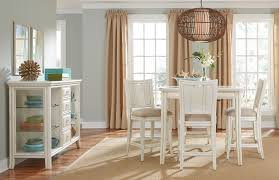 siesta sands square rectangular gathering dining room set