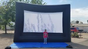 outdoor cinema services u0026 inflatable screen rentals desert air