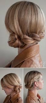 Hochsteckkurzhaarfrisuren Einfach by 20 Aufregende Neue Filigrane Braid Hochsteckfrisur Frisuren Haar