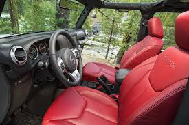 red jeep compass interior introducing the 2013 jeep wrangler rubicon 10th anniversary edition