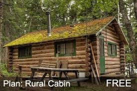 free log cabin plans 62 best cabin plans with detailed instructions log cabin hub