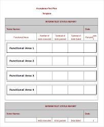 acceptance test report template simple test plan template dimonit tk
