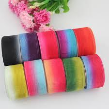 sheer organza ribbon 1 25mm stripe gradient sheer organza ribbon wedding accessories