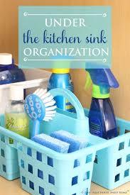 Under Bathroom Sink Storage Ideas by Best 25 Kitchen Sink Organization Ideas On Pinterest Kitchen