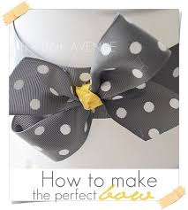 How To Make The Perfect How To Make A Perfect Bow The 36th Avenue