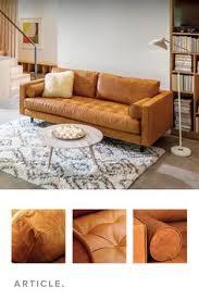 tan sofa decorating ideas tan brown leather sofa upholstered article nirvana modern