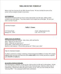 mba application resume format resume format and resume