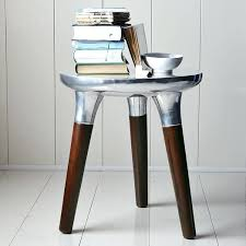 aluminum accent table marvelous aluminum accent table with side table aluminium side