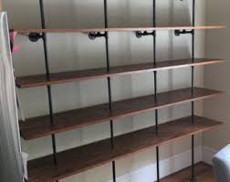 Wall Bookcase Living Room Furniture Etsy