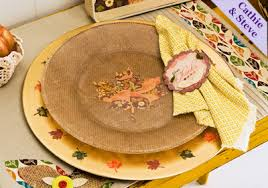thanksgiving plate charger set project plaid