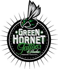 green hornet tattoo