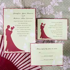 Red Wedding Invitations Red Wedding Invitations