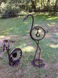 1455 best metal yard art images on pinterest welding projects
