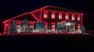 christmas lights red and white christmas lights decoration
