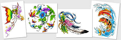 tattoo designs u0026 symbols fairy flames flower frog tattoos