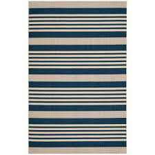 Yellow And Blue Outdoor Rug Striped Outdoor Rugs Rugs The Home Depot