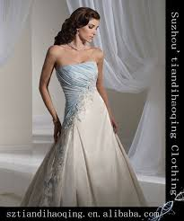 two color wedding dress two tone wedding dress gown and dress gallery