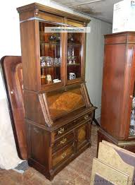 antique oak secretary desk with hutch antique furniture