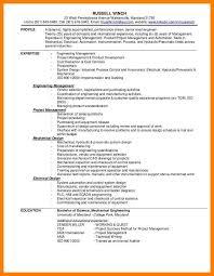 Entry Level Mechanical Engineering Resume Entry Level Engineer Resume Example