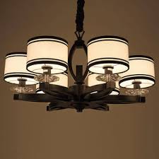 Discount Chandelier Lamp Shades Vintage 8 Light Glass Shade Pillar Candle Chandelier