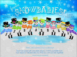 frostie snowbabies winter collection 2016