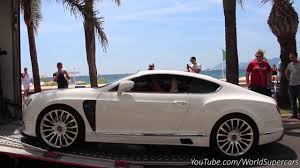 Mansory Bentley Continental Gt Delivery In Cannes Youtube